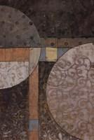 """Geo Round Squared II by John Kime - 24"""" x 36"""""""