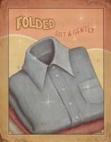 Fold Framed Print