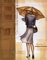 Rain Milano Framed Print