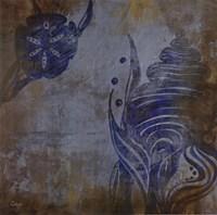 """Nautilus I - CS by Loretta Linza - 16"""" x 16"""""""