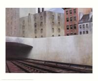 Approaching a City Fine Art Print