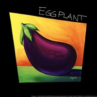 Eggplant - mini Framed Print