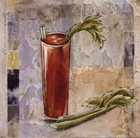 """Bloody Mary by Susan Osborne - 12"""" x 12"""""""