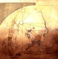 "Map Adventures I by Susan Osborne - 20"" x 20"""