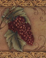 Grape Tapestry I - mini Fine Art Print