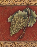 "Grape Tapestry II - mini by Susan Osborne - 8"" x 10"""