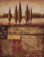 Renaissance Landscape I Fine Art Print