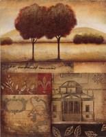 "Renaissance Landscape II by Susan Osborne - 22"" x 28"""