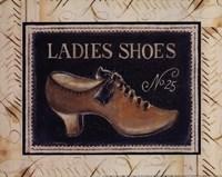 Ladies Shoes No. 25 - mini Framed Print