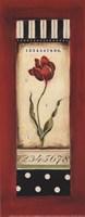 "Belgian Tulip II - petite by Kimberly Poloson - 4"" x 10"""