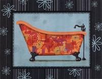Retro Tub I Fine Art Print