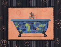 Retro Tub II Fine Art Print