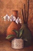 """Modern Orchid II by 3 bamboo - 24"""" x 36"""""""