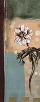 "Floral Splendor I by Selina Werbelow - 8"" x 20"""