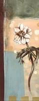 "Floral Splendor I - petite by Selina Werbelow - 4"" x 10"""