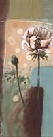 """Floral Splendor IV - petite by Selina Werbelow - 4"""" x 10"""""""