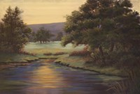 Emerald Meadow II Fine Art Print