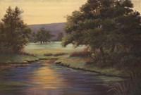 "Emerald Meadow II by Linda Wacaster - 36"" x 24"""