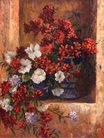 """Flores de Espaa I by Linda Wacaster - 22"""" x 28"""""""