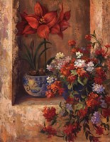 Flores de Espaa II Fine Art Print