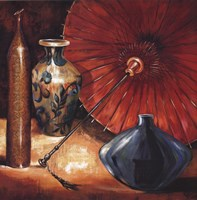 """Asian Still Life II by S Rodriguez - 35"""" x 35"""""""