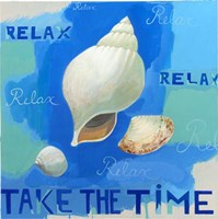 Shells of Time II Fine Art Print