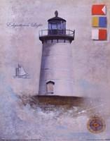 Edgartown Light Framed Print