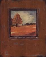 "Copper Landscape I by Jo Moulton - 16"" x 20"""