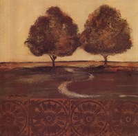 "Autumn Duo by Jo Moulton - 12"" x 12"""