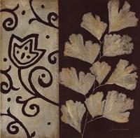Brown Leaf III Framed Print