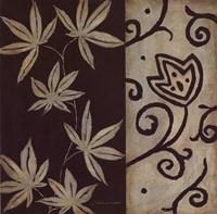 Brown Leaf IIII Framed Print