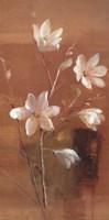 """White Magnolia by Danhui Nai - 12"""" x 24"""" - $13.99"""