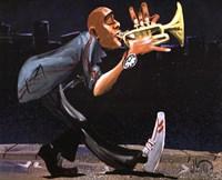Modern Jazz Step Fine Art Print