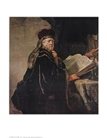 "Rabbi by Rembrandt van Rijn - 22"" x 28"""
