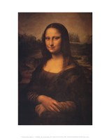 Mona Lisa, c.1507 Fine Art Print
