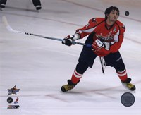 """Alex Ovechkin 2008 NHL All-Star Game Skills Competition by Daphne Brissonnet - 10"""" x 8"""""""