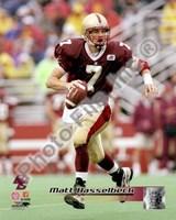 "Matt Hasselbeck Boston College Golden Eagles 2004 Action by Daphne Brissonnet - 8"" x 10"""