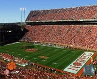 "Memorial Stadium 2006 - Clemson University by Daphne Brissonnet - 10"" x 8"""