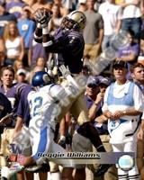 "Reggie Williams University of Washington Huskies 2002 Action by Daphne Brissonnet - 8"" x 10"""