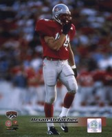 """Brian Urlacher University of New Mexico Action by Daphne Brissonnet - 8"""" x 10"""""""