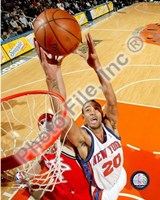 Jared Jeffries 2007-08 Action Fine Art Print