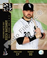 Nick Swisher 2008 Studio Fine Art Print