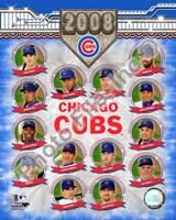 """2008 Chicago Cubs Team Composite by Daphne Brissonnet, 2008 - 8"""" x 10"""""""