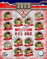 "2008 Boston Red Sox Team Composite by Daphne Brissonnet, 2008 - 8"" x 10"""