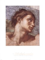 Sistine Chapel Adam Fine Art Print