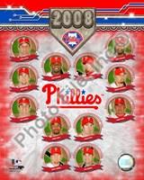 Philadelphia Phillies - 2008 Team Composite Framed Print