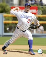 Brad Penny 2008 Pitching Action Fine Art Print