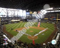 """Safeco Field, Seattle Mariners - 2008 Opening Day by Daphne Brissonnet, 2008 - 10"""" x 8"""""""