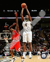 Michael Finley 2007-08 Action Fine Art Print