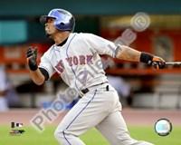 "Jose Reyes 2008 Batting Action by Daphne Brissonnet - 10"" x 8"""